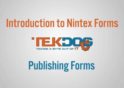 TekDog Intro Slide